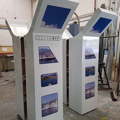 Oceanair Exhibition Displays