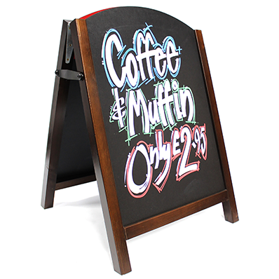 Premier Wood Chalk A-Board