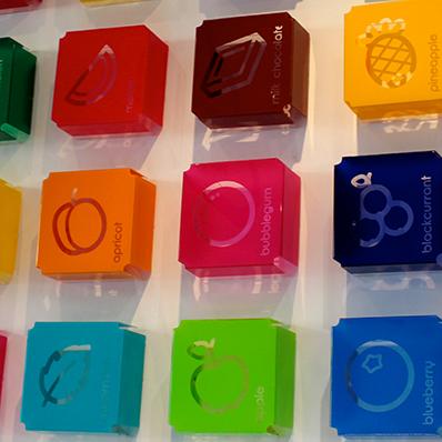 Acrylic Flavour Pod