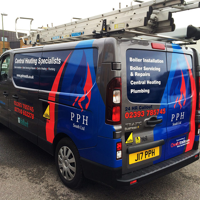 PPH South Vehicle Graphics