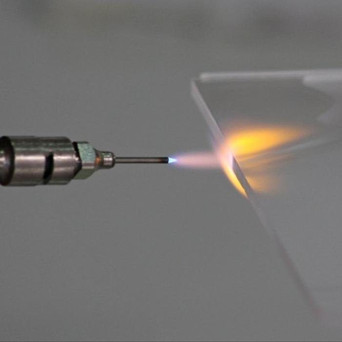 Flame Polishing Acrylic