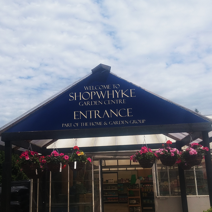 Shopwhyke Full Colour Printed Entrance Sign