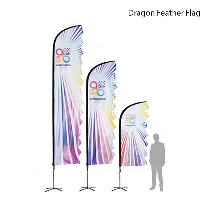 Dragon Feather Flag
