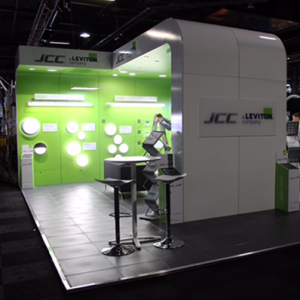 Bespoke Exhibition Display for JCC Lighting