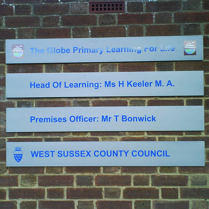 Wall Mounted School Slats