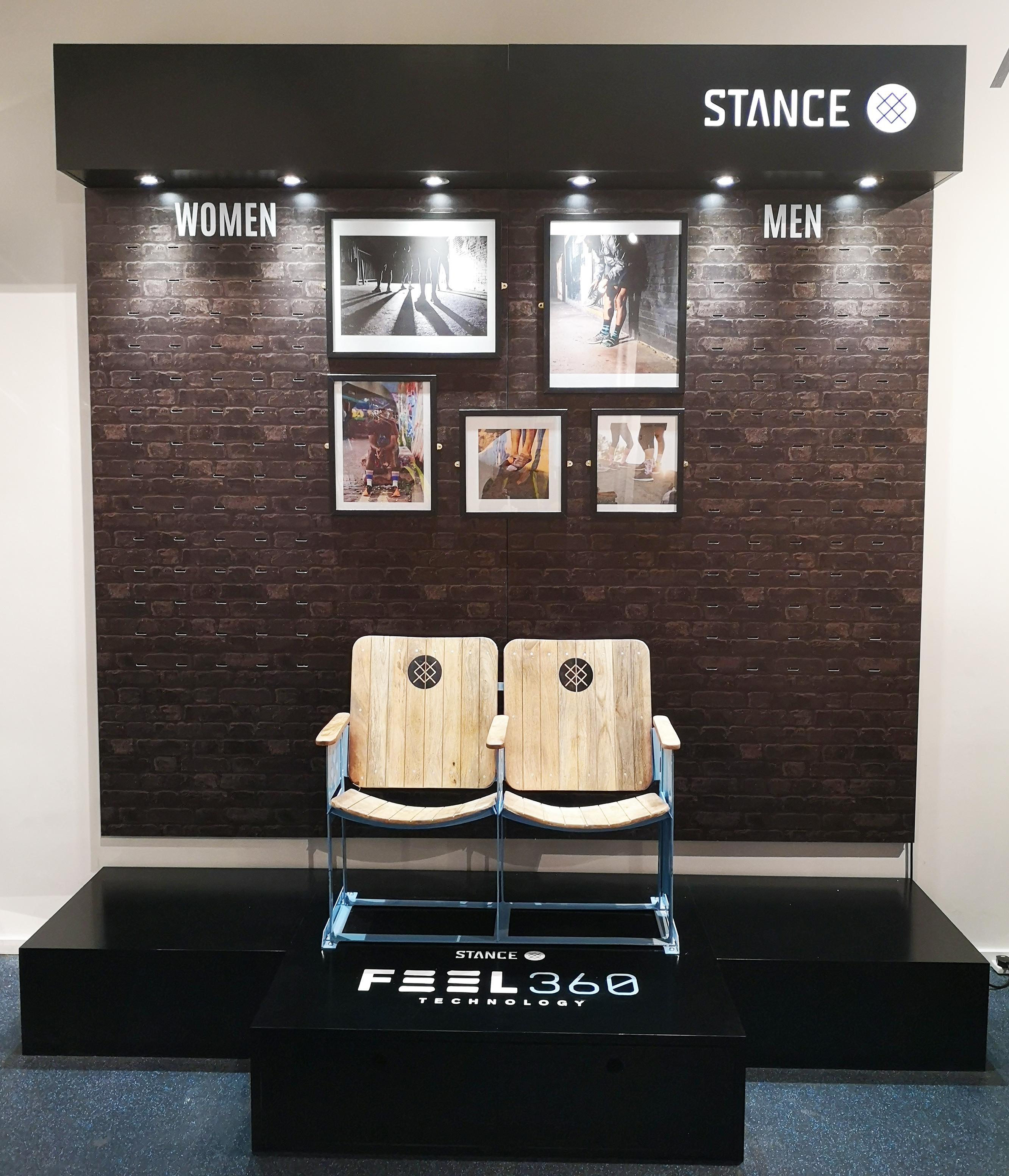 Retail Display for Stance Socks