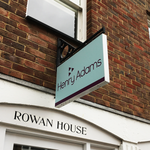 Full Colour Printed Hanging Sign
