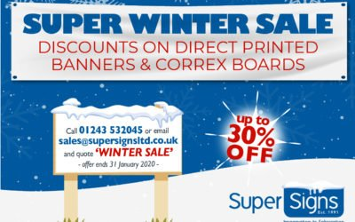 SUPER WINTER SALE!