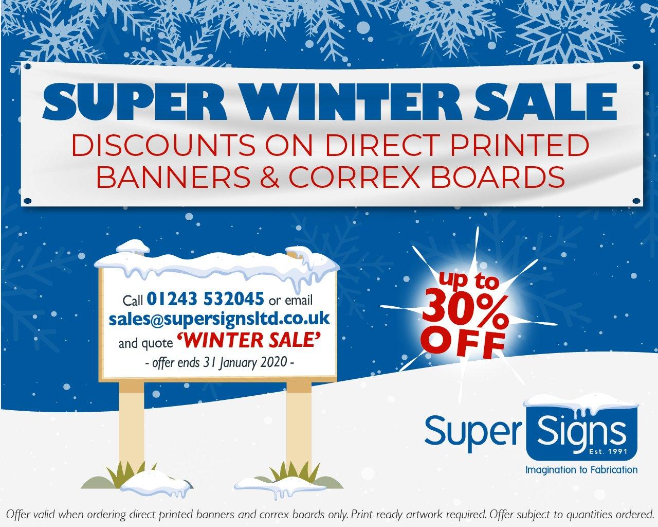 supersigns super winter sale