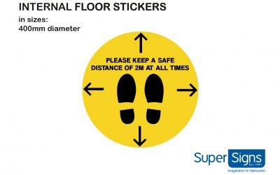 Internal Floor Stickers